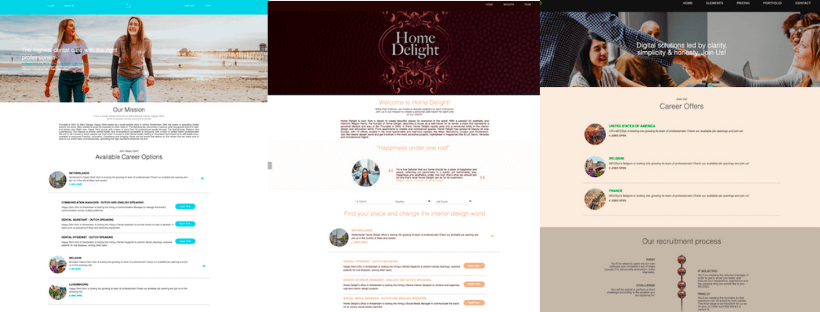 fast-career-pages-templates