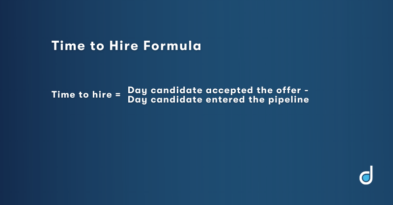 Time to hire formula